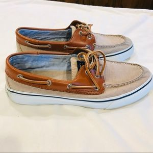 Sperry men's topsider tan size 11 M